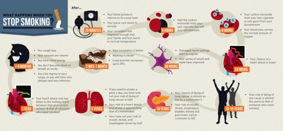 Stop Smoking Infographics