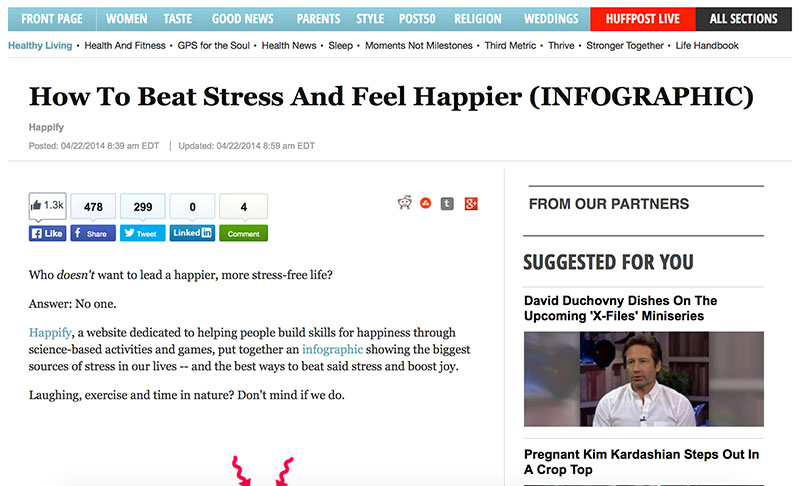 HuffPost Screenshot